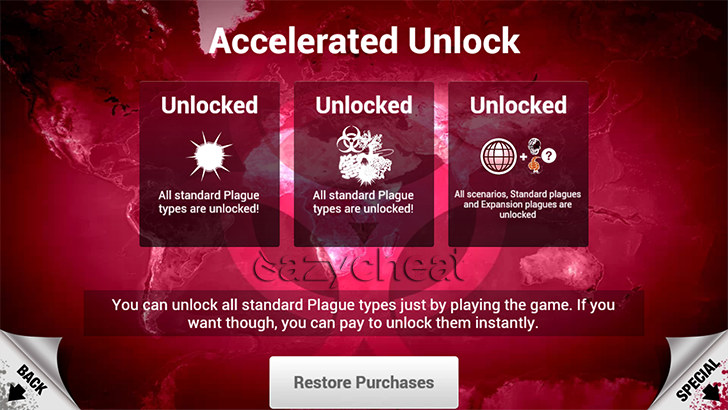 Plague Inc Cheats