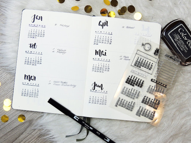 vertical future log 2019 bullet journal glitter is the new black