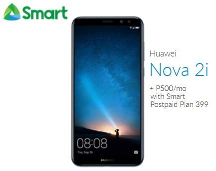 Huawei Nova 2i Via Smart Postpaid