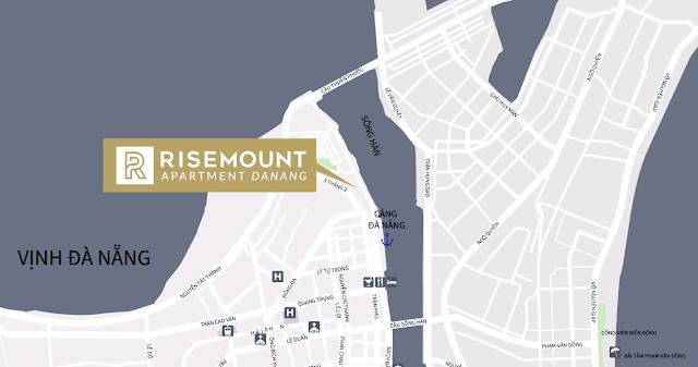 vị trí đắc địa cuả Risemount apartment