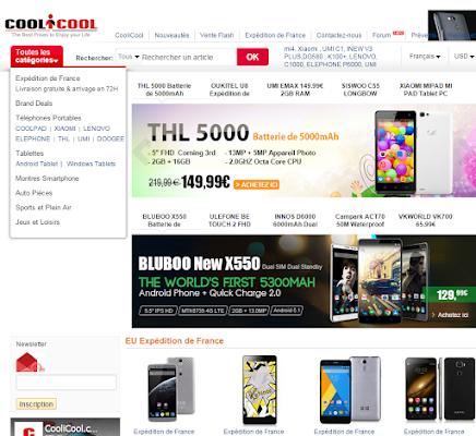 452e8618b أفضل المواقع الصينية لشراء هواتف ذكية من الانترنت - موقع عرب شوبينج