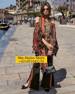 Shehla Chatoor Luxury Lawn 2017 Summer Collection