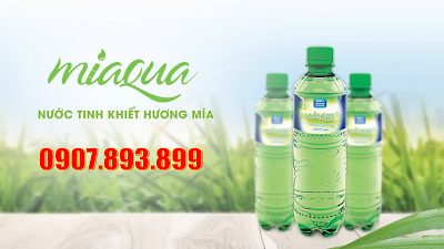 Nước Miaqua tinh khiết từ cây mía
