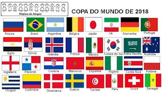 bandeiras copa mundial 2018