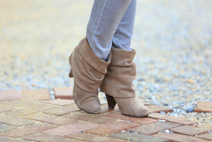 steve madden beige boots