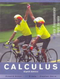 WE ARE FRIEND: Handbook of Calculus 8th Edition By Howard Anton
