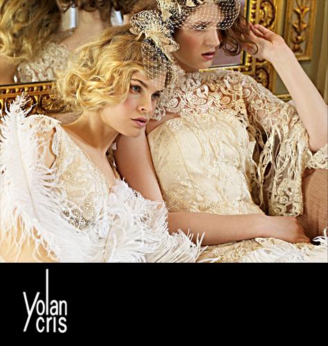 """abc5d306eda Журнал Dream-Dress сегодня для наших невест расскажет о испанском бренде – """"Yolan  Cris"""". Эта марка уникальна своей экстраординарностью и разнообразием"""