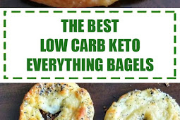 The Best Low Carb Keto Everything Bagels