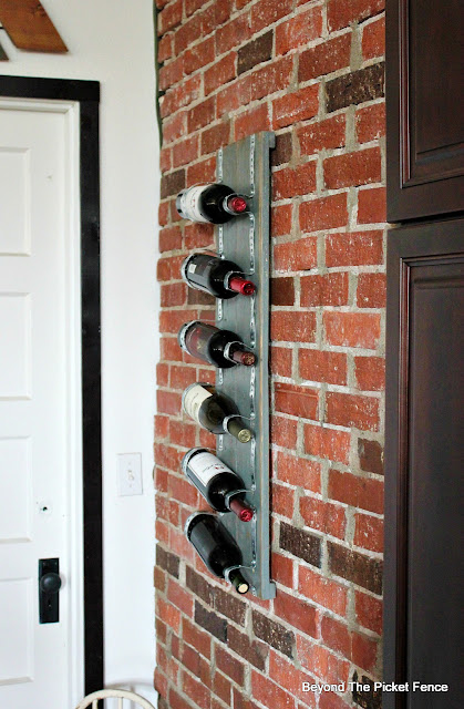 Rustic Industrial Wine Rack Made from Pallets