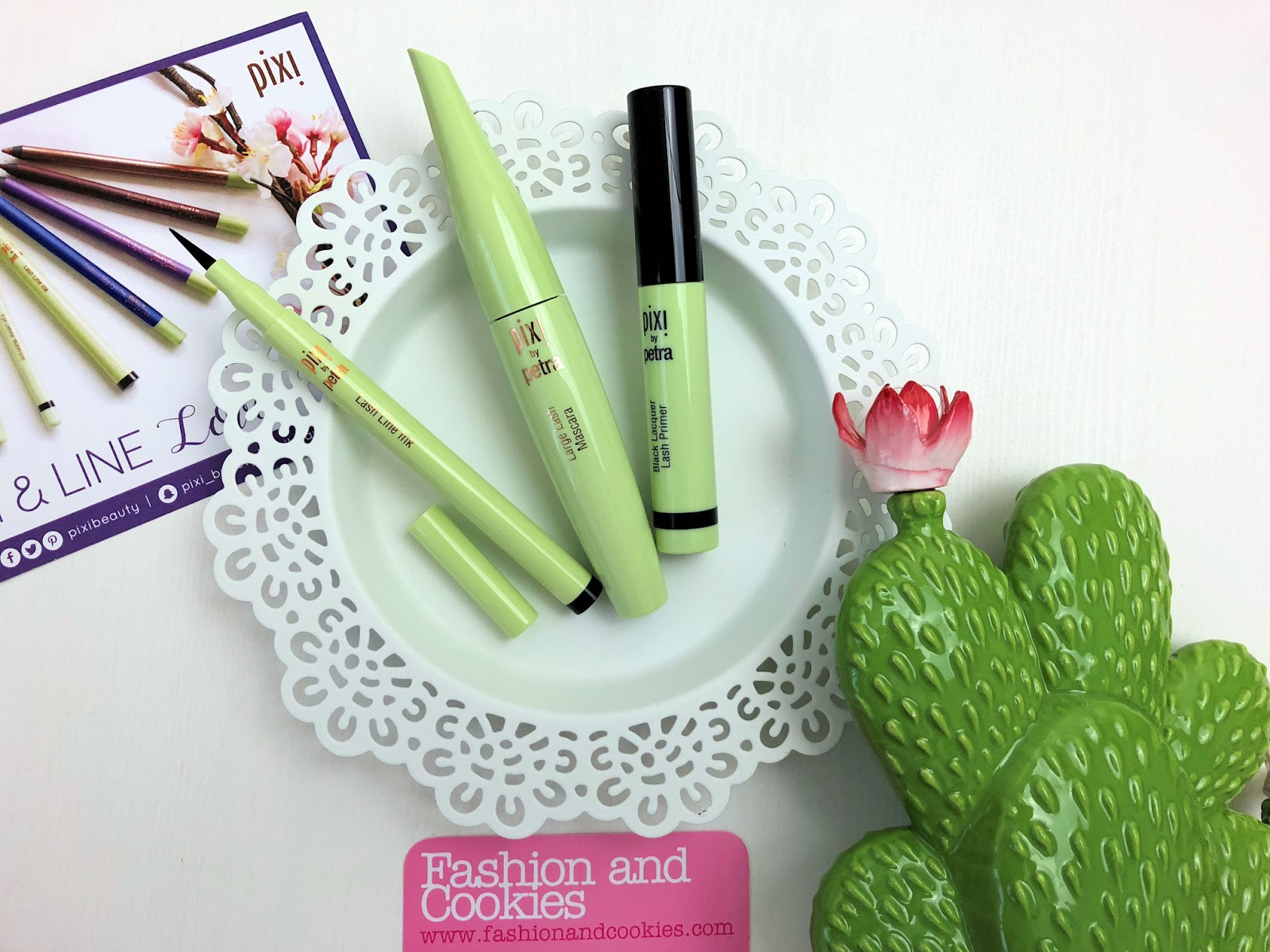 Pixi Beauty Lash & Line Love review on Fashion and Cookies beauty blog, beauty blogger