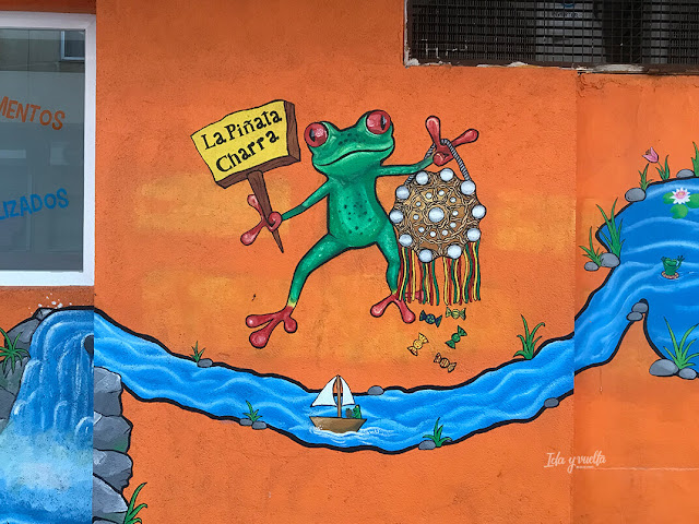 Piñata charra Barrio Oeste