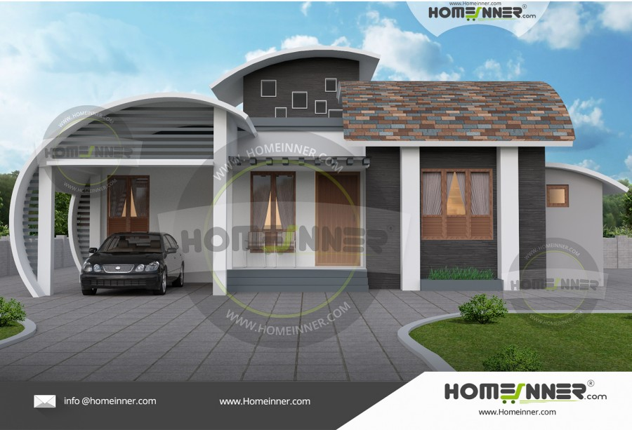 3 bedroom simple low cost home design for Tavoli design low cost