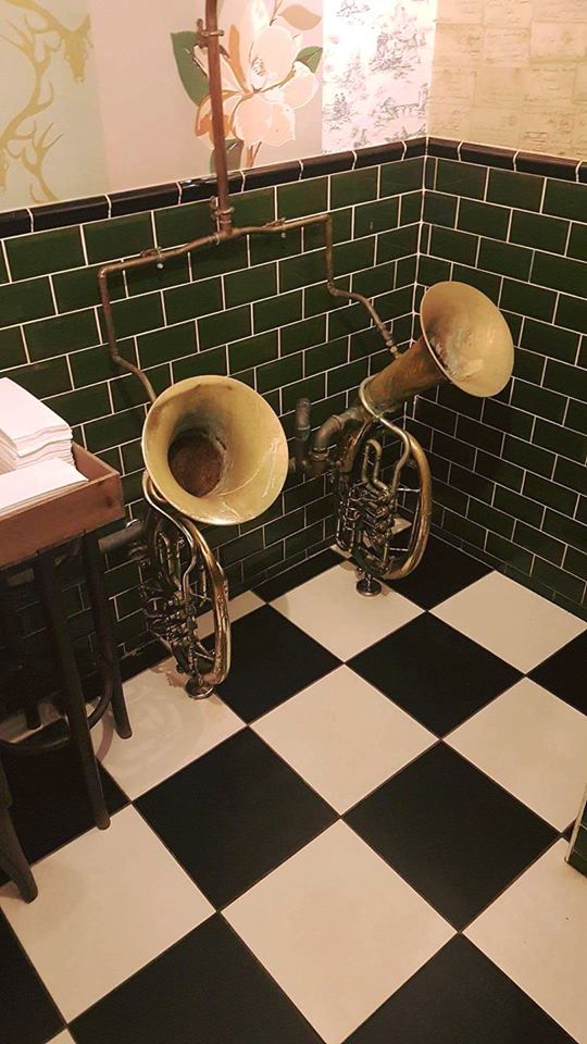 Wagner Tubas as Urinals