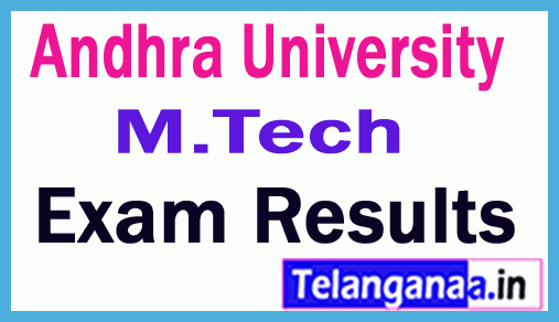 Andhra University Integrated M Tech Dual Degree 2nd Sem  Exam Results