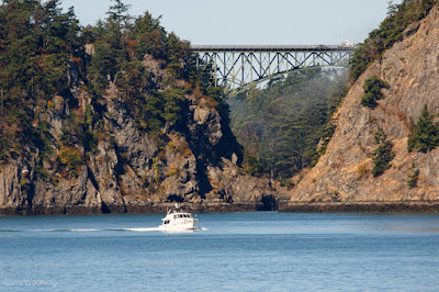 Canoe Pass at Deception Pass, Washington