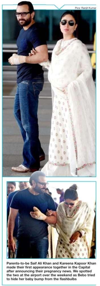 Bebo Kareena Kapoor Khan ka baby bump!