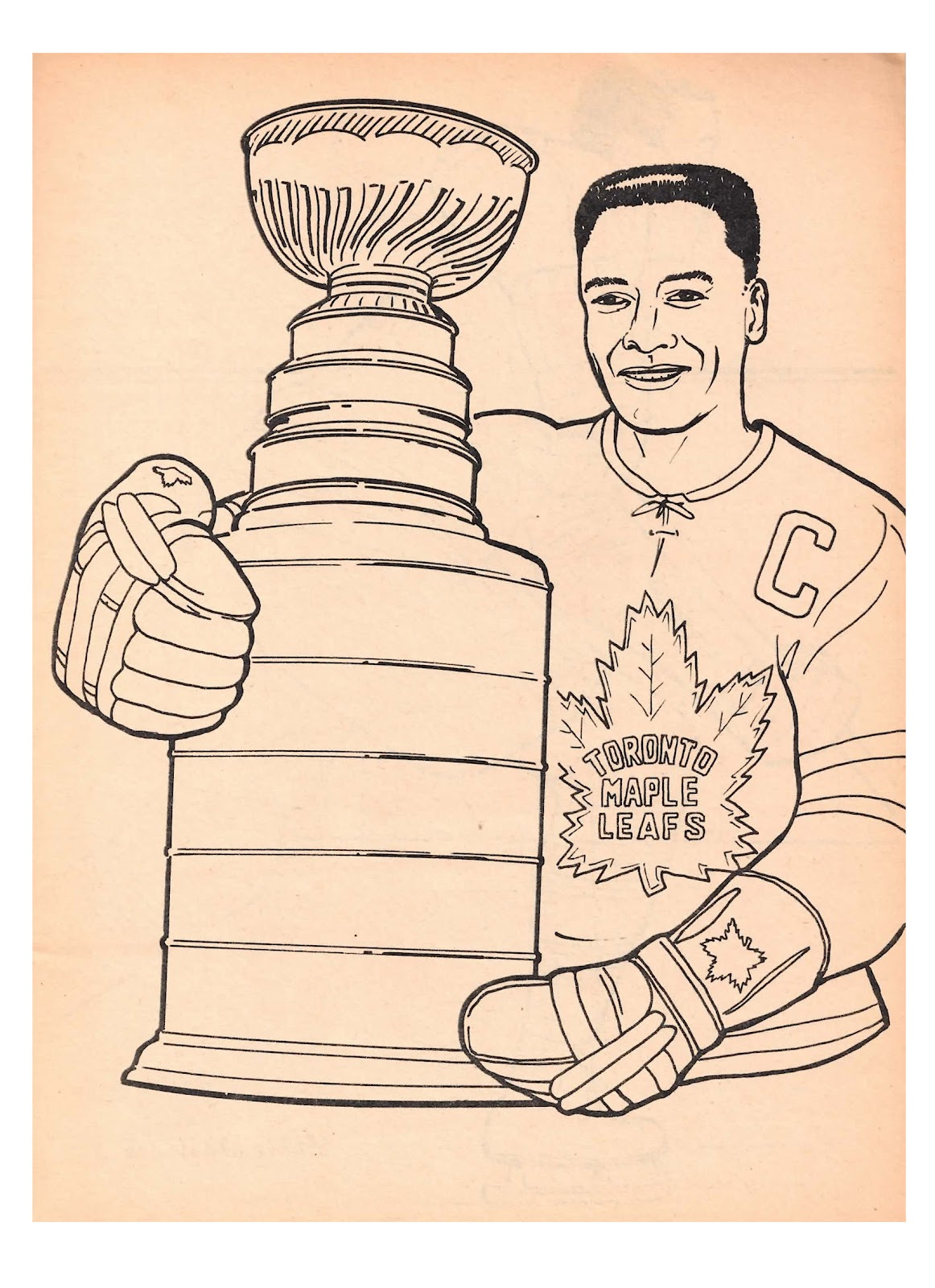 Uncategorized Toronto Maple Leafs Coloring Pages toronto maple leafs coloring pages laura williams pages