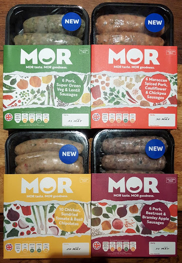 Mor Sausages Review (for meat-eaters - but do include veg)