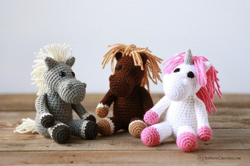 61 Mini Crochet Animals [Free Patterns] | AllFreeCrochet.com | 533x800