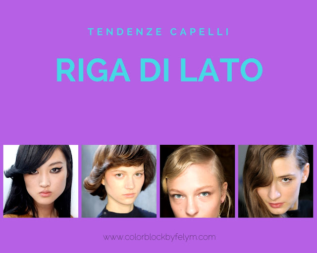tendenze capelli autunno inverno 2016- 2017 acconciature riga di lato side parting hairstyle winter trend mariafelicia magno blogger colorblock by felym beauty blog beauty blogger beauty tips