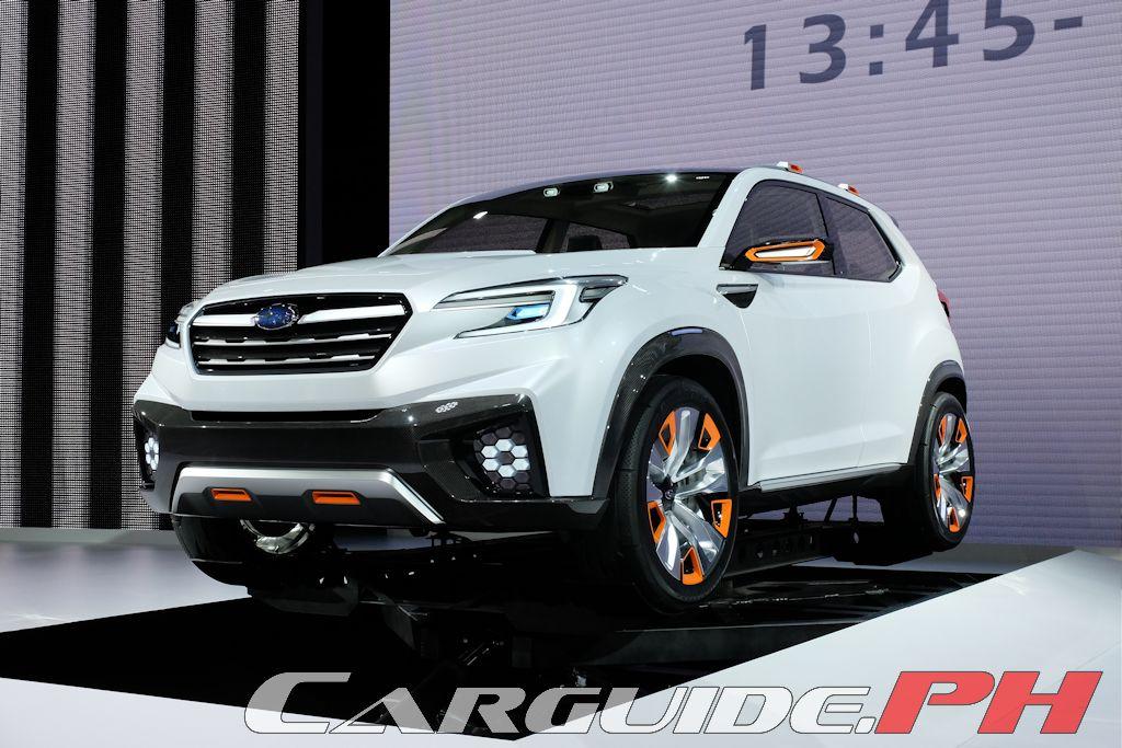 Tokyo Motor Show 2015 Subaru Concepts Form Cornerstone Of