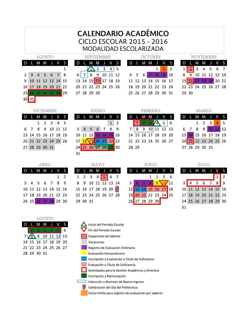 Calendario Politecnico.Polska Mexico Operation Vacation In Mexico
