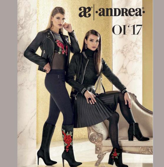 Catalogo zapatos cerrado Andrea Otoño invierno 2017