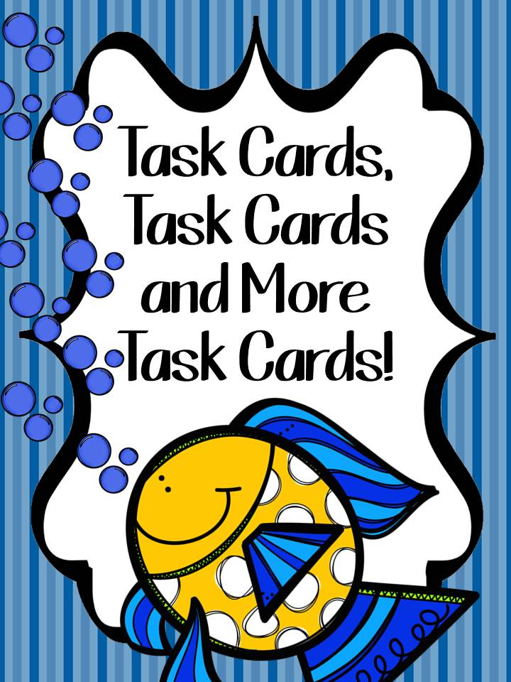 Fern Smith's Classroom Ideas - Task Cards, Task Cards and More Task Cards for all Elementary School Subject Areas!