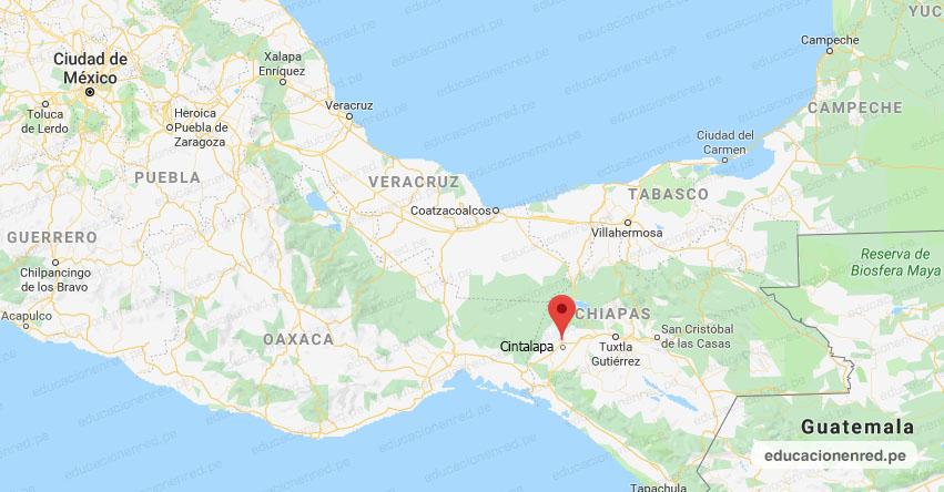 Temblor en México de Magnitud 4.1 (Hoy Sábado 16 Noviembre 2019) Sismo - Epicentro - Cintalapa - Chiapas - CHIS. - SSN - www.ssn.unam.mx