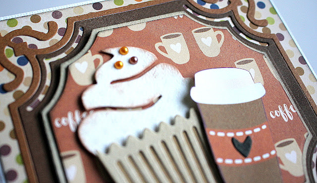 Blue And Brown Cards by Ulrika Wandler using Stay Awhile Collection