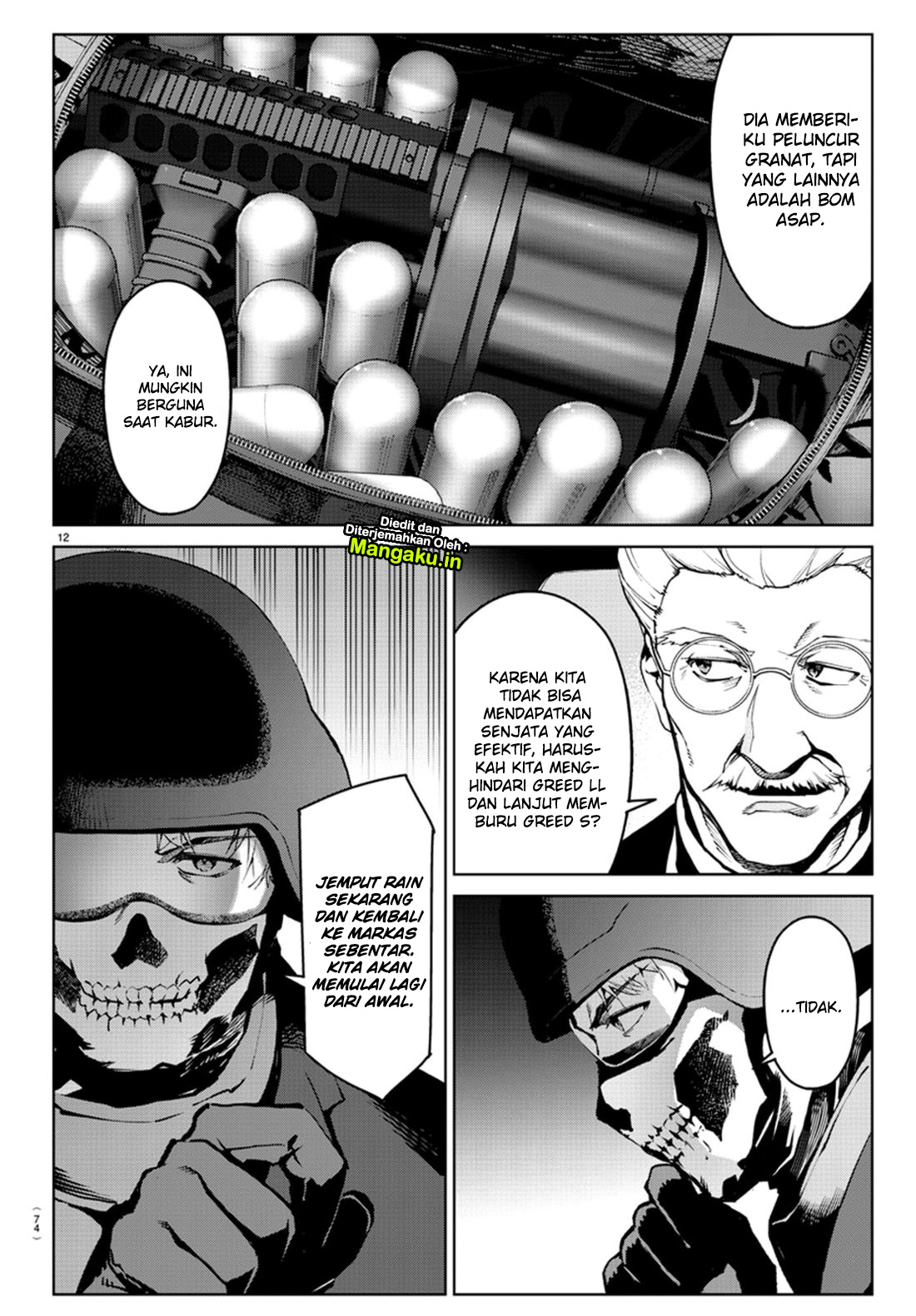 Darwin's Game Chapter 71-14