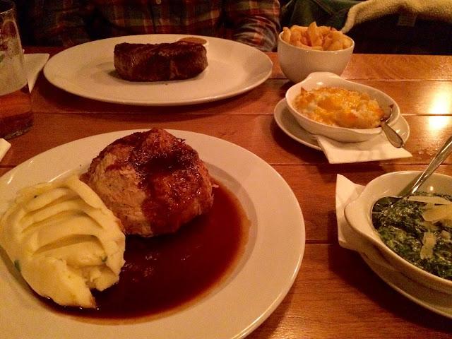Ryans F.X. Huxley Steakhouse Dublin Restaurant Review