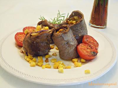 recetas con ternera y maíz