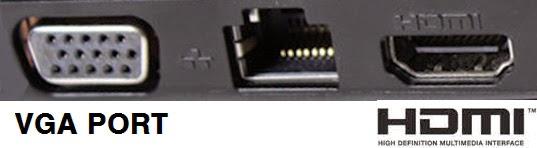 perbedaan VGA port dan port HDMI