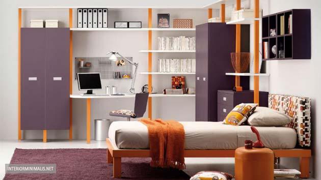 50 desain kamar tidur kecil yang unik sederhana
