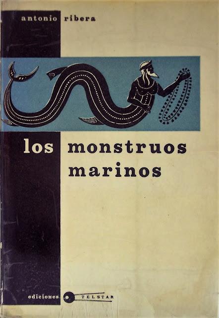 Portada para Los Monstruos Marinos por Antonio Ribera