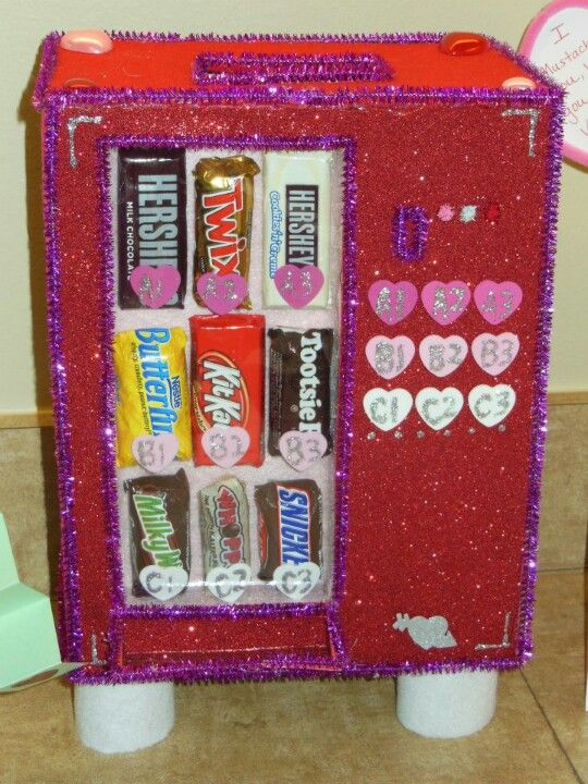 I Made This Vending Machine Candy Box In 4th Grade And It Was The Best  Everu2026 Jk! I Actually Just Found This On Pinterest And Was Reminded How Much  Kids ...