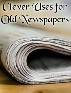 Clever Uses for Old Newspapers