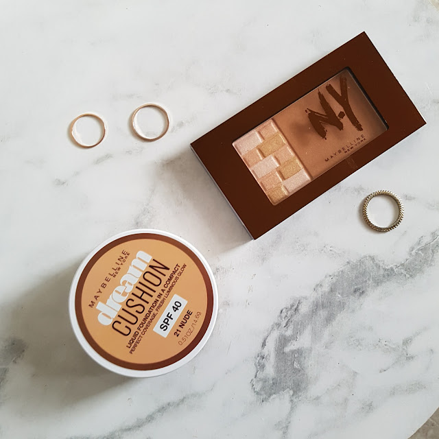 Maybelline Dream Cushion Foundation and Bricks Bronzer | Almost Posh