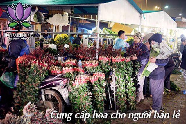 Hoa hong do cam canh xoan B500