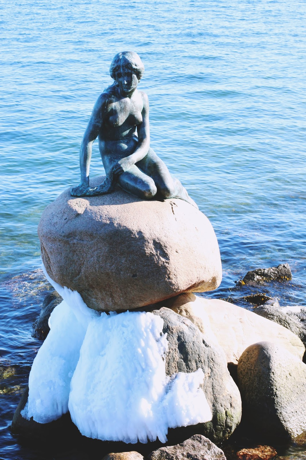 The Little Mermaid Statue Copenhagen