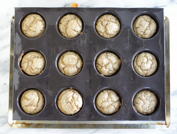 Muffins in Demarle at Home Muffin Mold