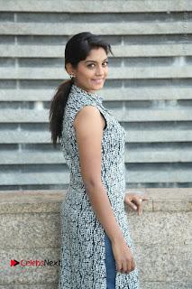 Telugu Television Actress Karuna Latest Pos In Denium Jeans  0031.JPG