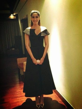 Sonam in Dubai for the launch of Femina