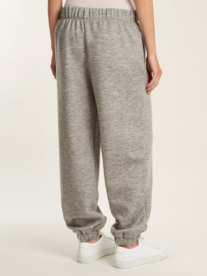Classic Loose Track Pants With Elastic Cuffs for Women