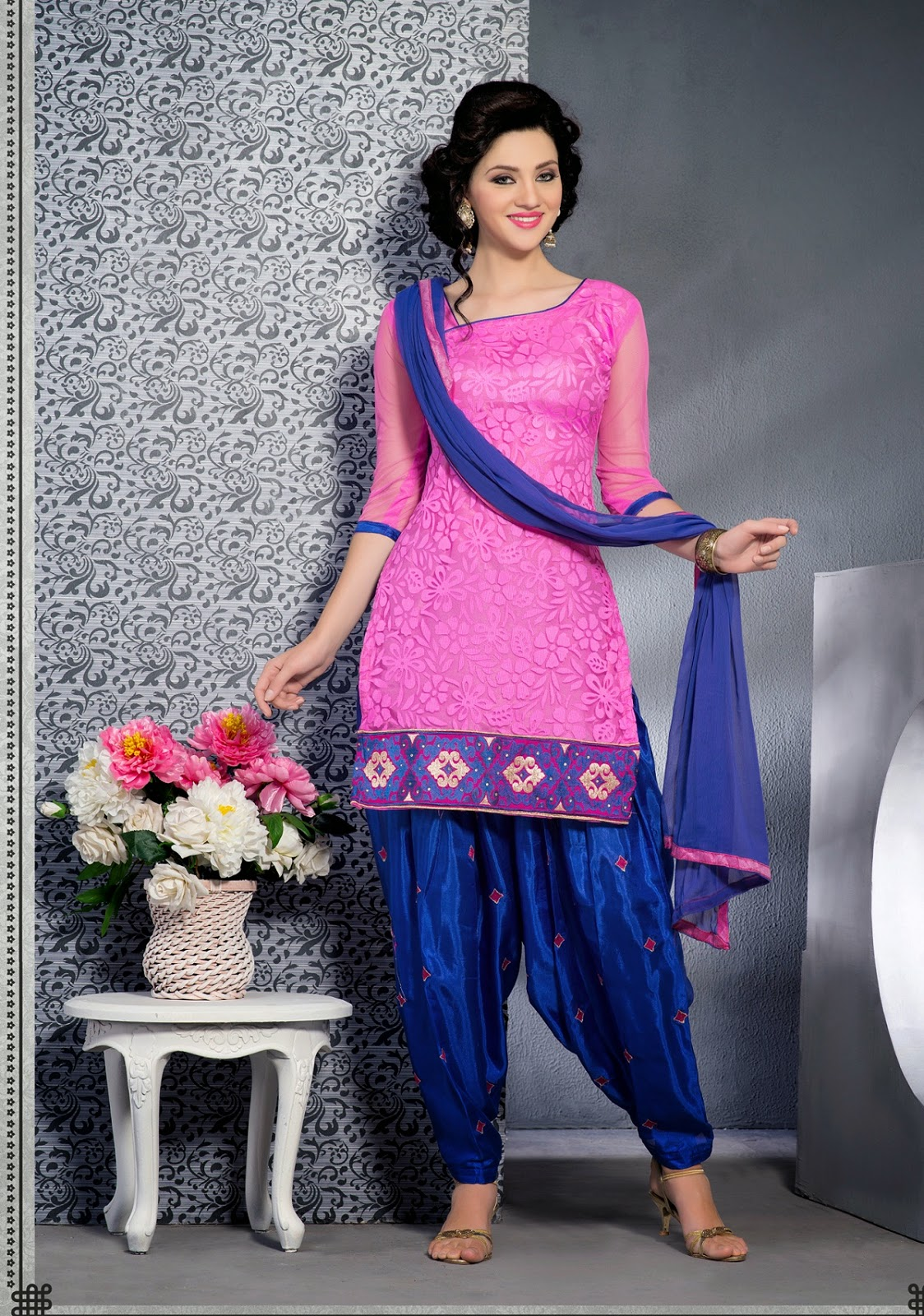 15 Traditional Punjabi Salwar Suits For Women In Trend