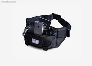 Waist Bag Noesa Cobalt Black di Marka Indonesia