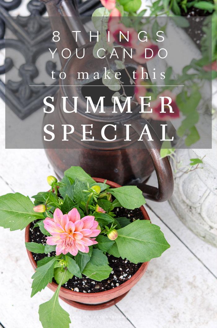 Ways to enjoy summer