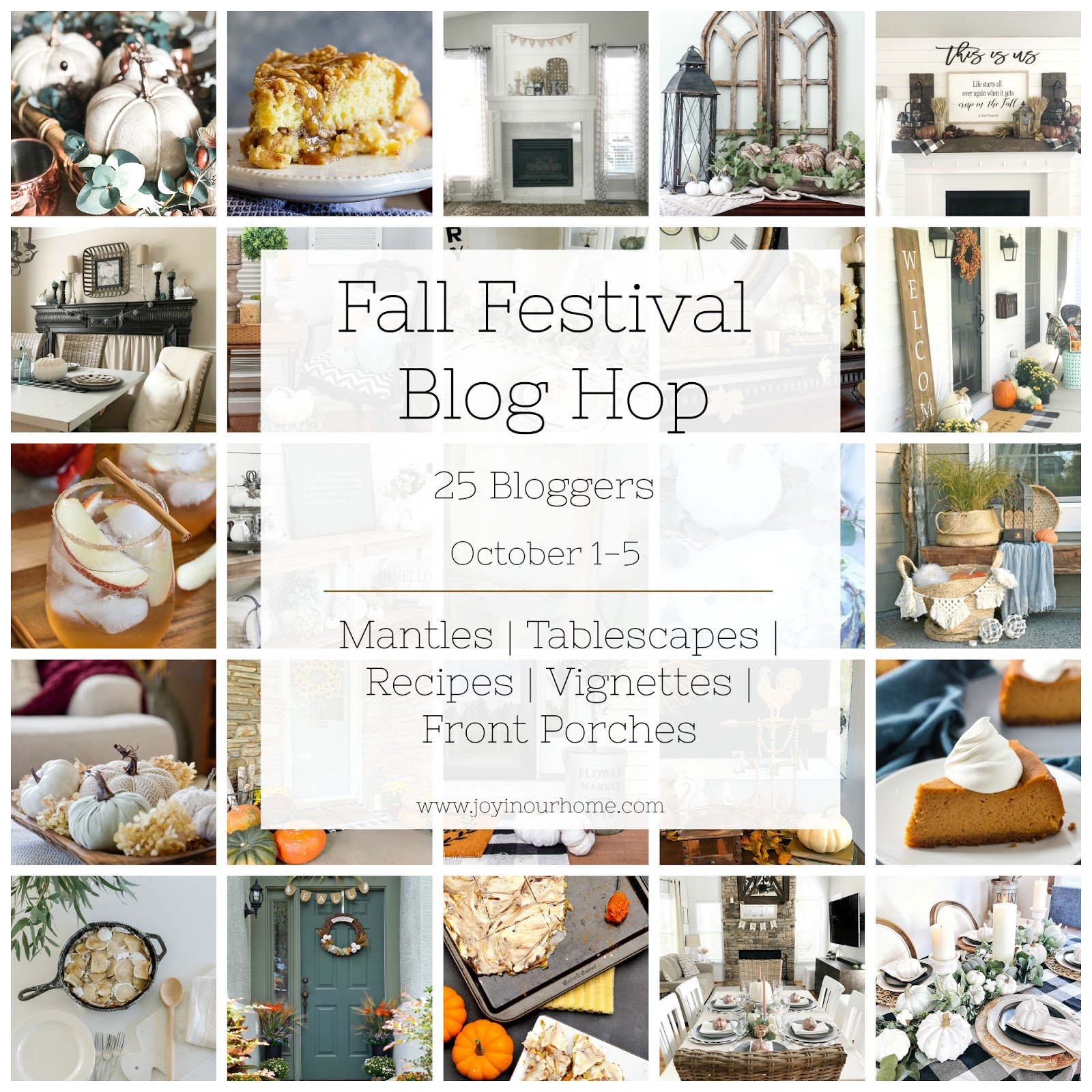 Fall Festival Blog Hop