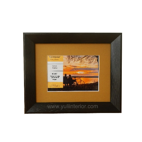 Custom 8x10 Picture Frame for 5x7 image with Gold Bevel Mat Nigeria